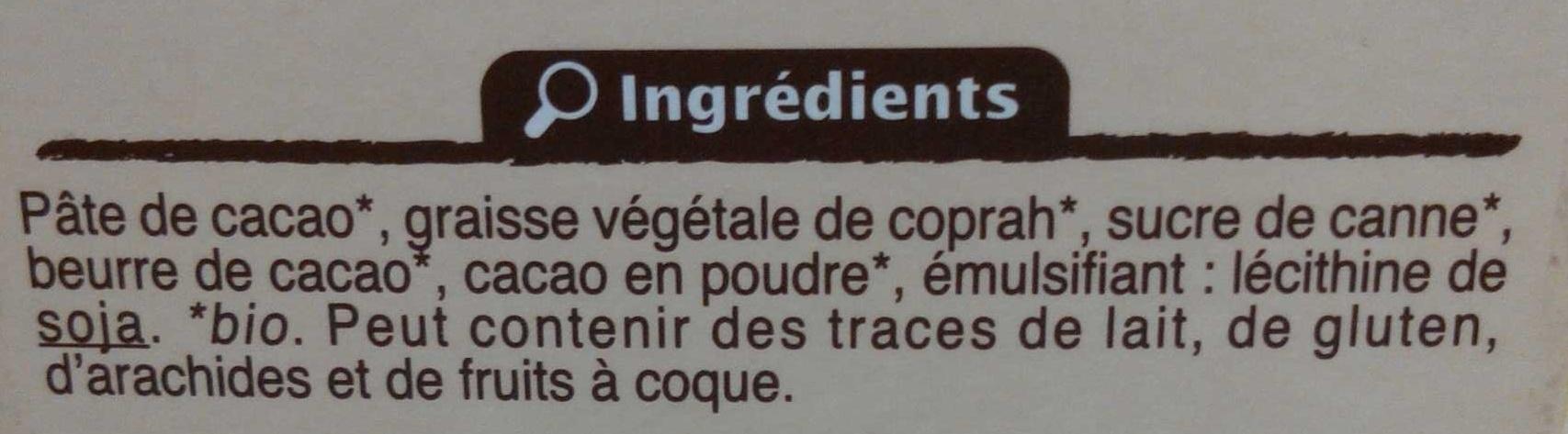 Truffes fantaisie fondates - Ingrediënten