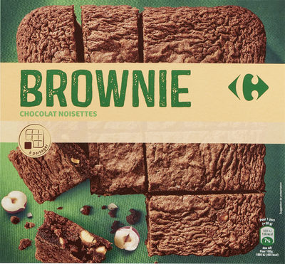 Brownie chocolat noisettes - Product - fr