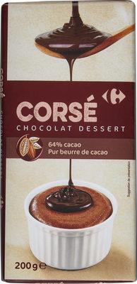 Corsé chocolat dessert - Produit