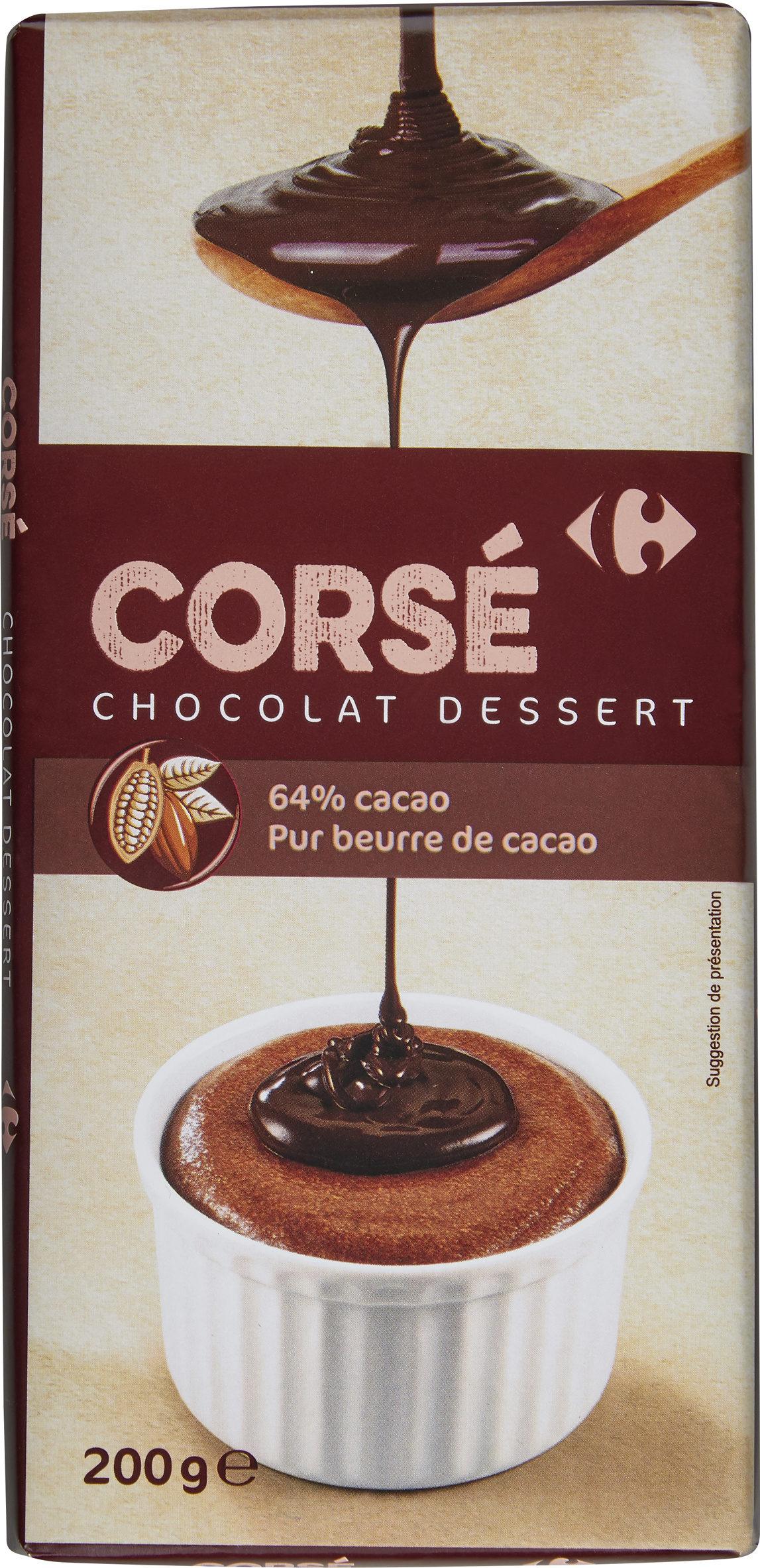 Corsé chocolat dessert - Produit - fr