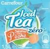 Iced Tea zéro saveur pêche - Produit