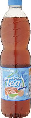 Iced Tea zéro saveur pêche - Prodotto - fr