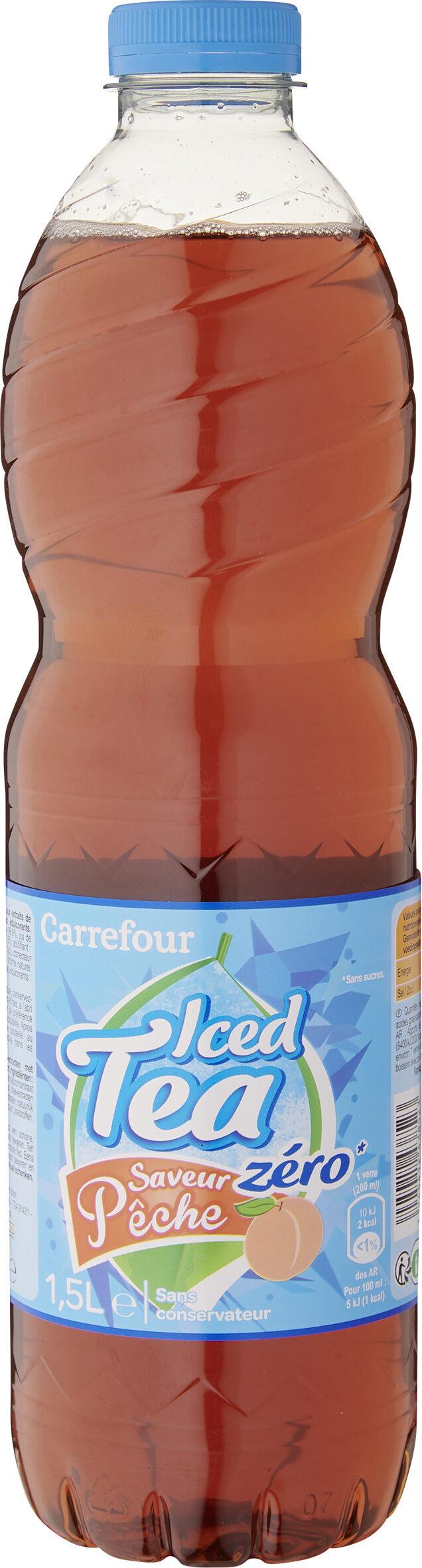 Iced Tea zéro saveur pêche - Product - fr