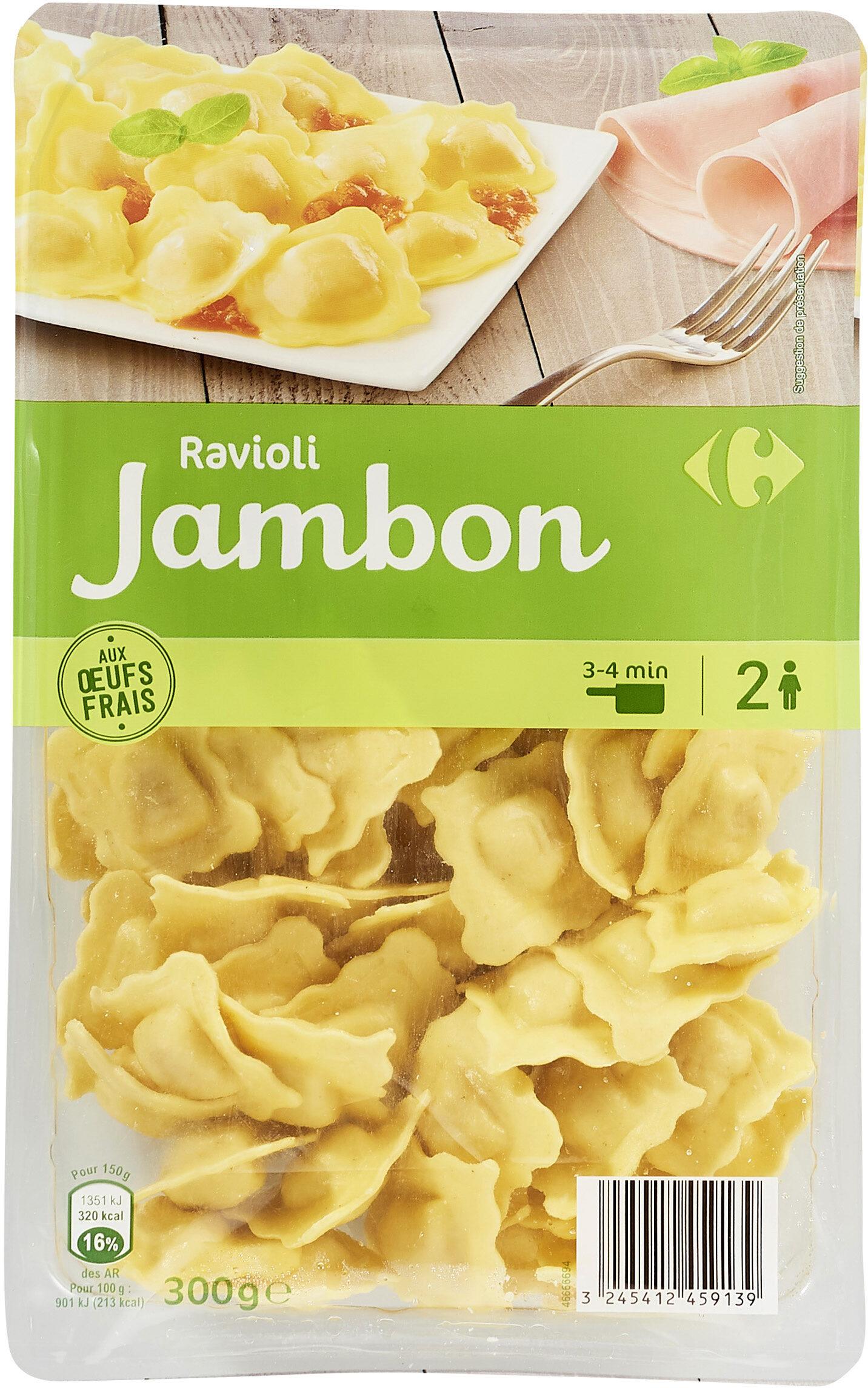 Ravioli au jambon - Produit - fr