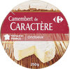 Camembert de caractère (20 % MG) - Produit
