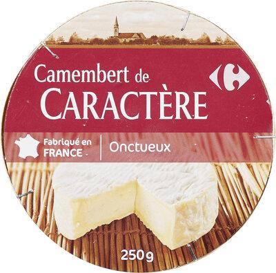 Camembert de caractère (20 % MG) - Product - fr
