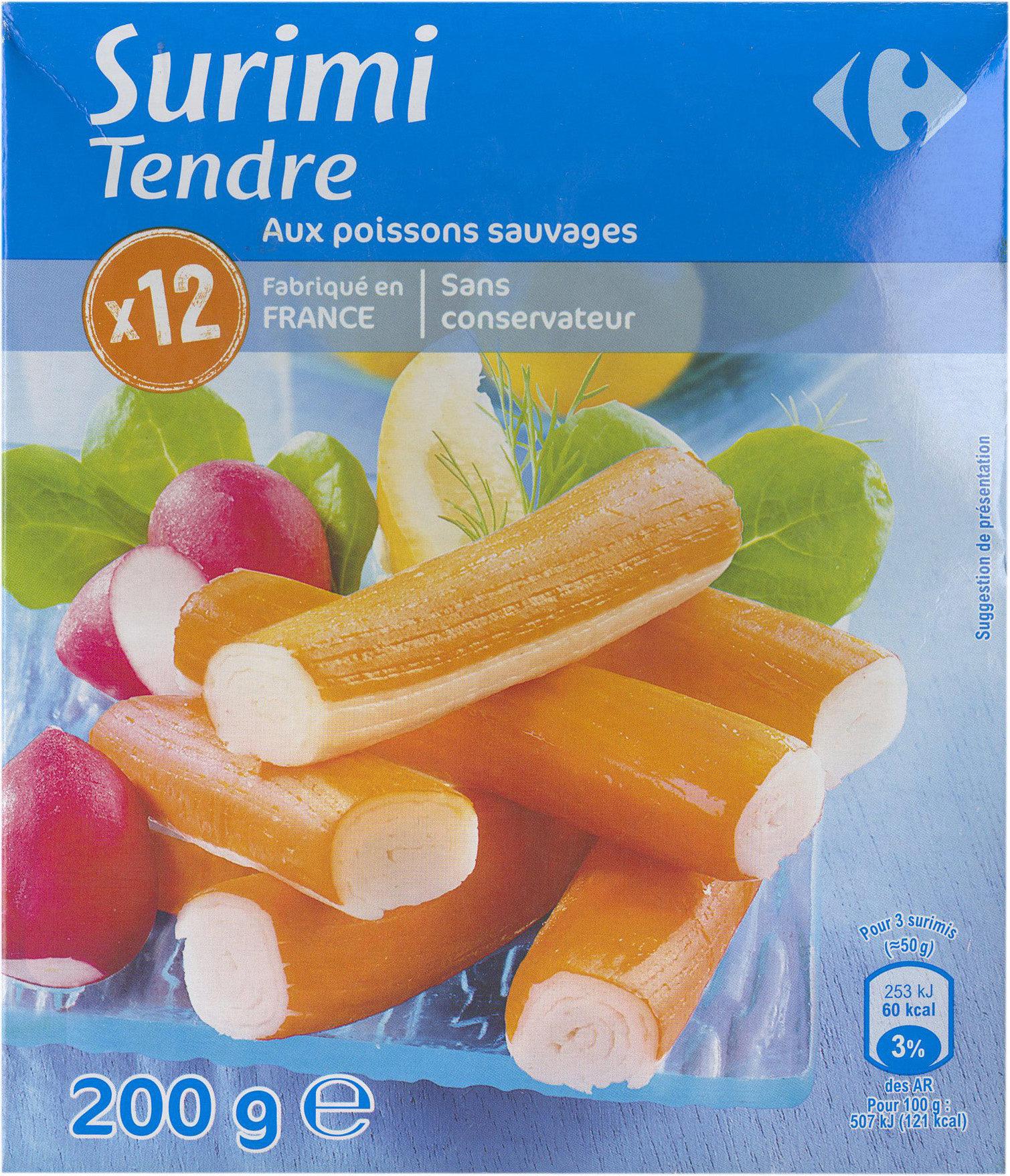 Surimi tendre - Product - fr