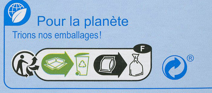 Surimi tendre - Recycling instructions and/or packaging information - fr