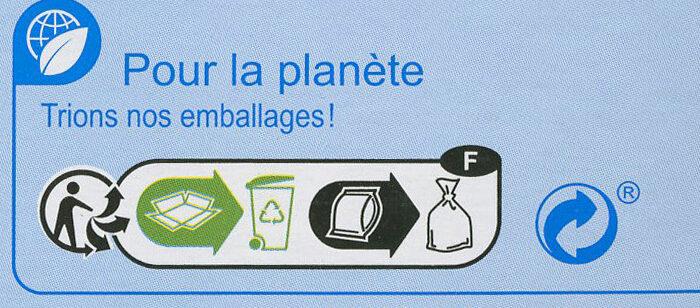 Surimi tendre - Instruction de recyclage et/ou information d'emballage - fr