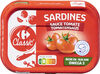 Sardines à la sauce tomate - Prodotto