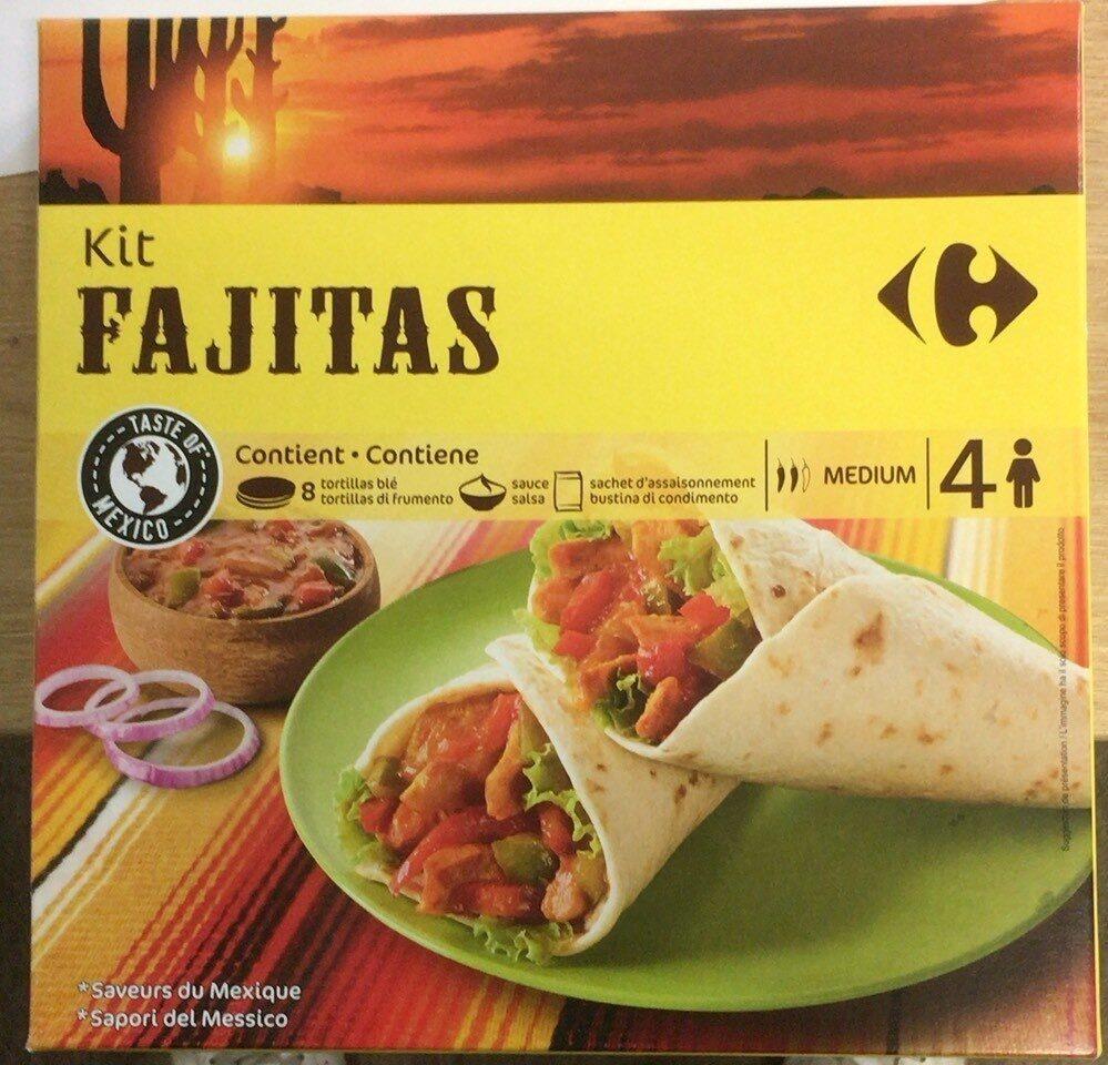 Kit fajitas - Produit - fr