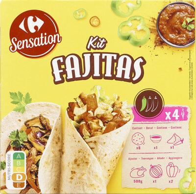Kit fajitas - Prodotto - fr