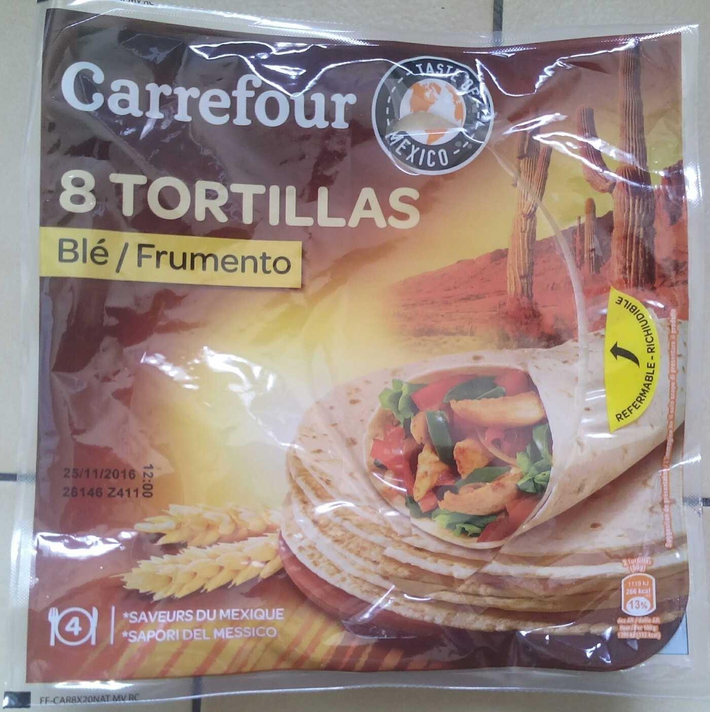 Tortillas de blé - Product