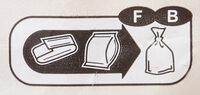 Pain de mie maxi tranches complet - Istruzioni per il riciclaggio e/o informazioni sull'imballaggio - fr