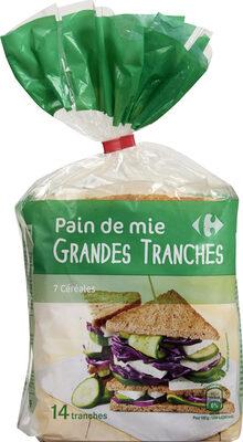 Pain de mie GRANDES TRANCHES - Produit - fr