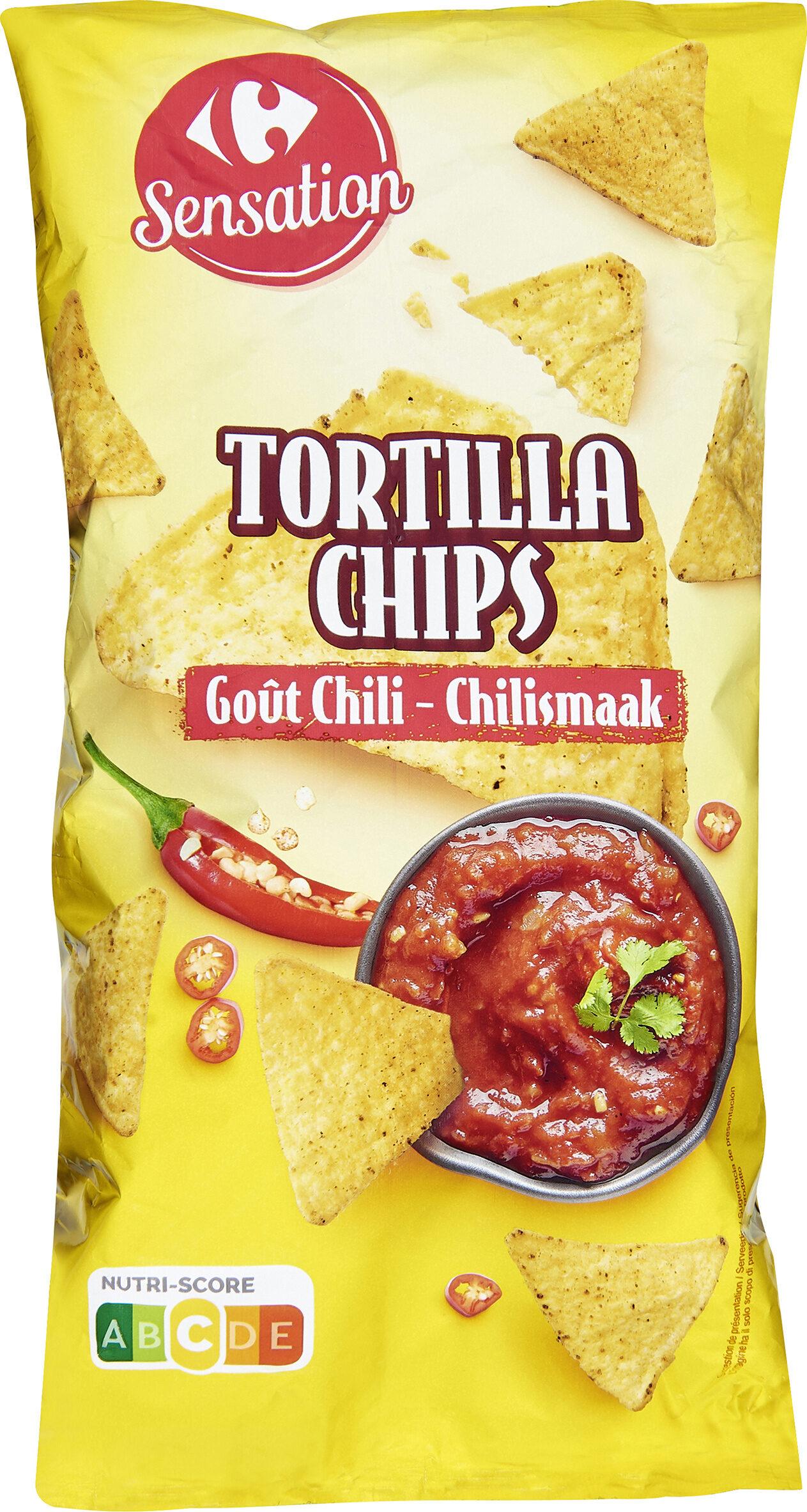 TORTILLA CHIPS GOÛT CHILI TASTE OF MEXICO* * Saveurs du MEXIQUE - Product - fr