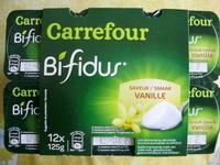 Yaourt bifidus vanille - Produit - fr