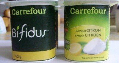 Bifidus saveur Citron (4 pots) - Produit - fr