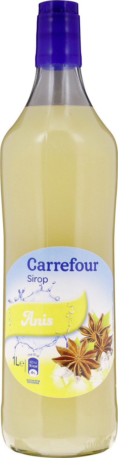 Sirop ANIS - Product - fr