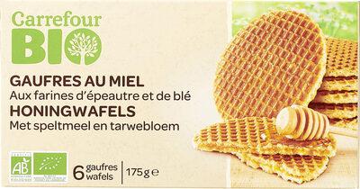 Gaufres au miel - Produit - fr