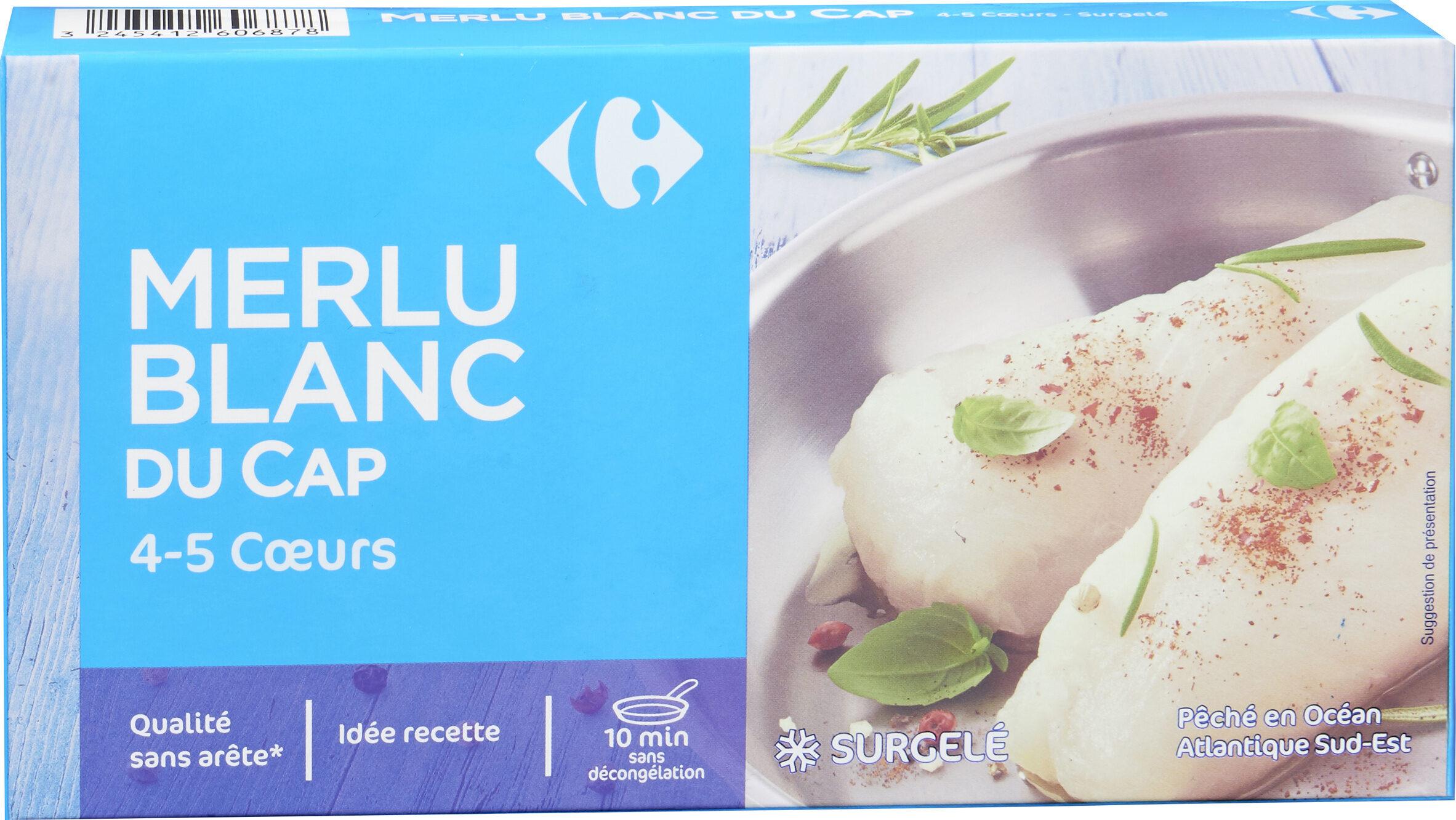 Coeurs De Filets De Merlu Blanc Du Cap, - Produit - fr