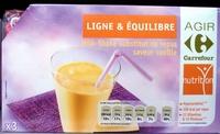 Milk-Shake substitut de repas, saveur vanille (x 3) - Produit - fr