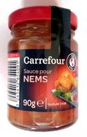 Sauce pour nems Carrefour - Produit - fr