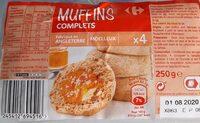 Muffins complets - Produit - fr