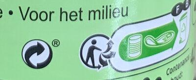 Abricots - Instruction de recyclage et/ou informations d'emballage - fr