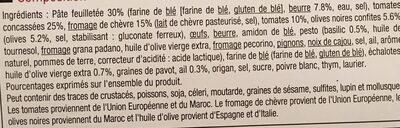 Feuillete fromage de chevre a la provencale - Ingredients - fr