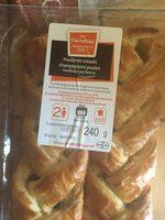Feuilletés tresse poulet champignons - Product - fr