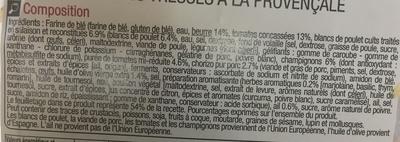 Feuilletés tressés à la provençale - Ingredients - fr