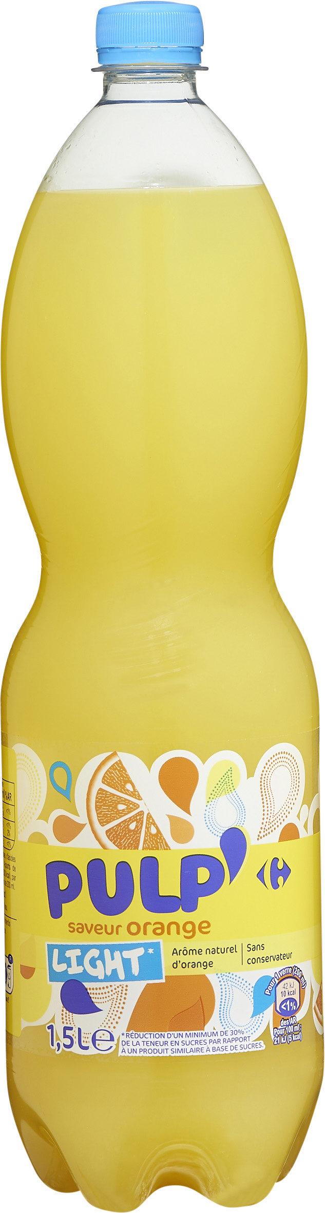 Pulp'saveur orangelight* - Produit - fr