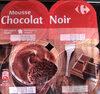 Mousse au chocolat noir - Produit