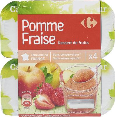 Pomme  Fraise Spécialité de fruits - Produkt