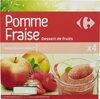 Pomme Fraise Spécialité de fruits - Produit