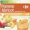 Pomme  Abricot Spécialité de fruits - Produit