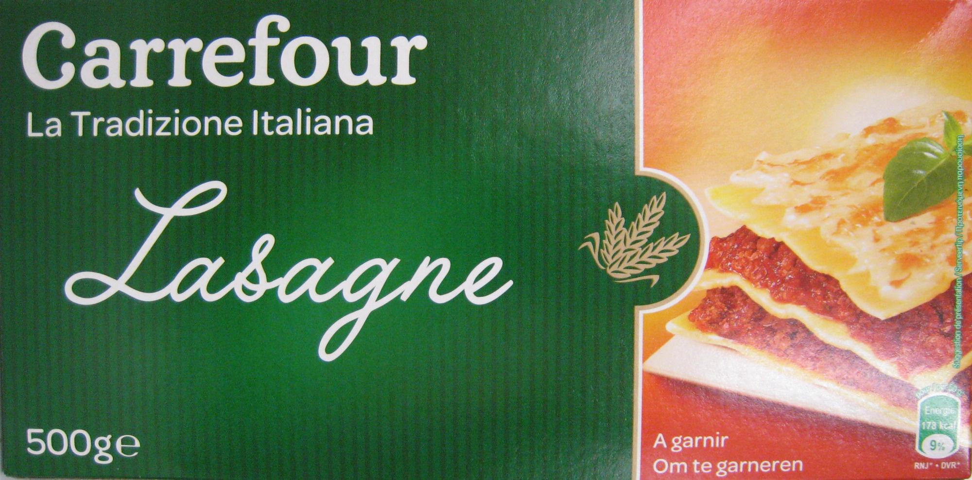 Lasagnes à garnir - Produit