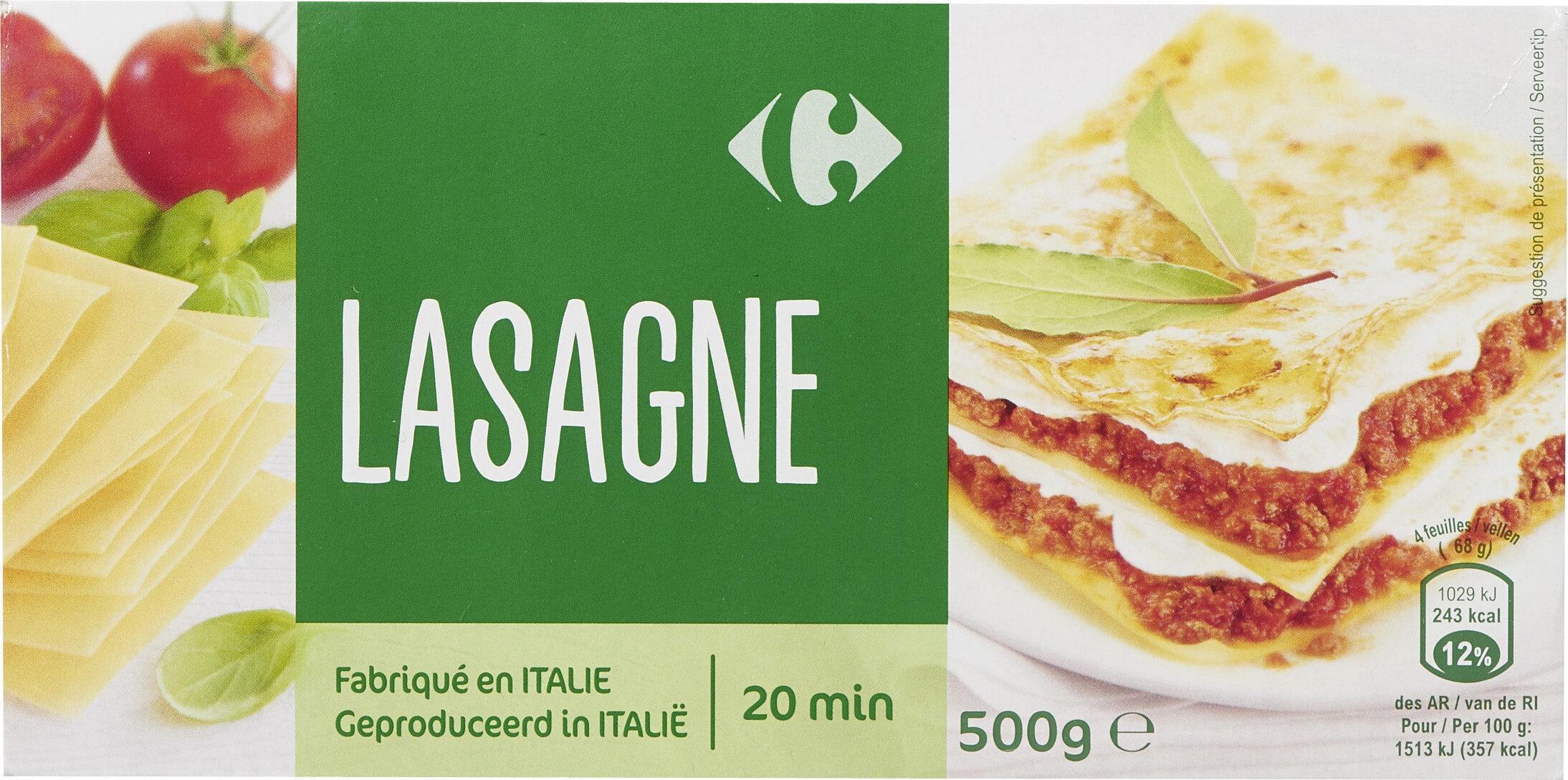 Lasagnes à garnir - Product - fr
