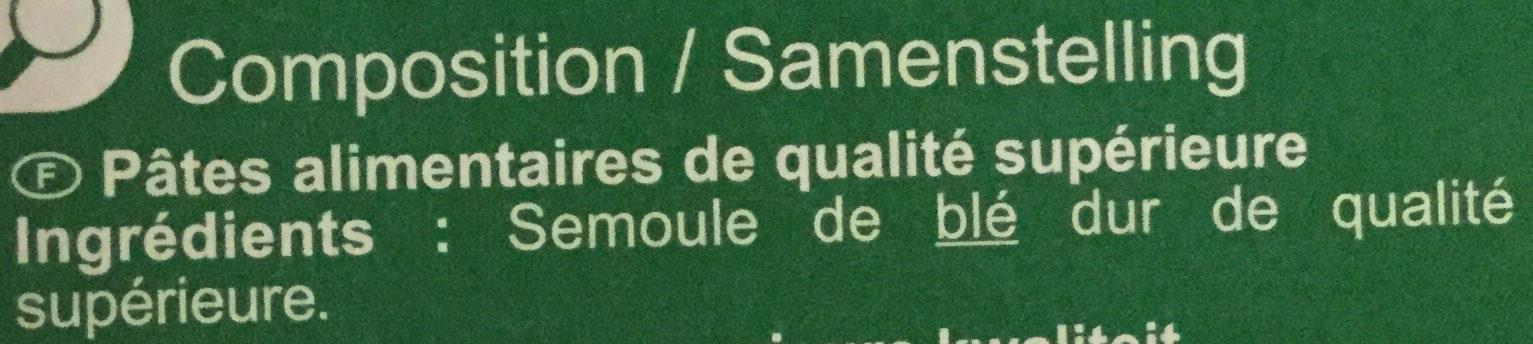 Lasagnes à garnir - Ingredients - fr