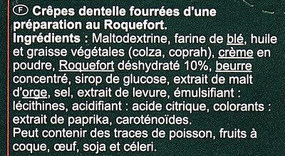 Crêpettes - Ingrédients - fr