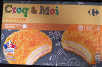 Croq&Moi, Fromage (x 2) - Produit - fr