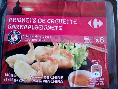 Beignets de Crevette, Sauce aigre-douce (x 6) - Produit