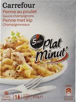 Penne au poulet Sauce Champignons - Produit - fr