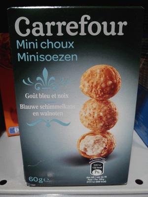 Mini choux goût bleu et noix - Produit