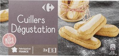 Cuillers  Dégustation - Produit