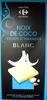 Chocolat blanc à la noix de coco et aux amandes brisées - Produit