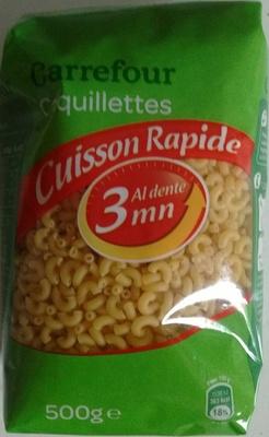 Coquillettes cuisson rapide 3 minutes - Produit