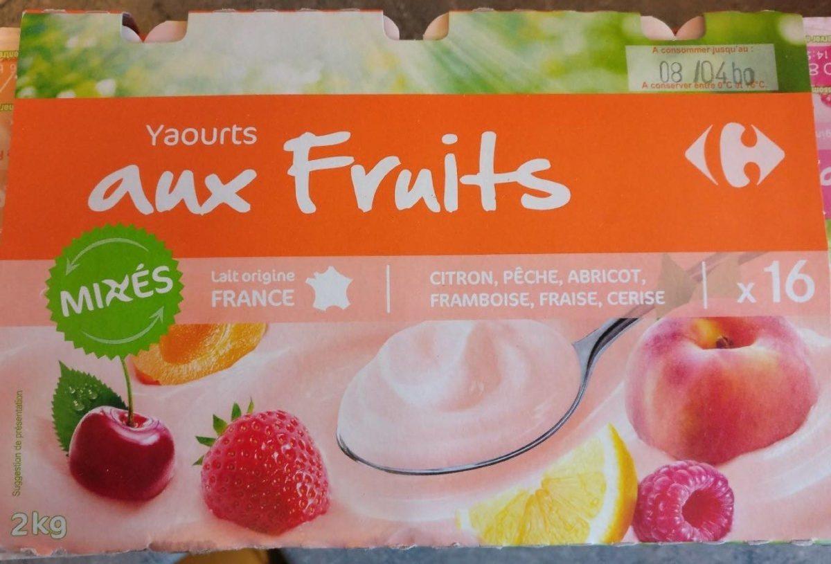 Yaourt aux Fruits Mixés - Producto