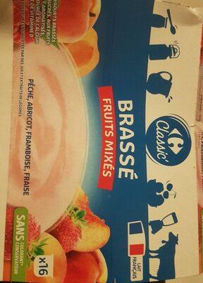 Brassé Fruits Mixés - Produit - fr